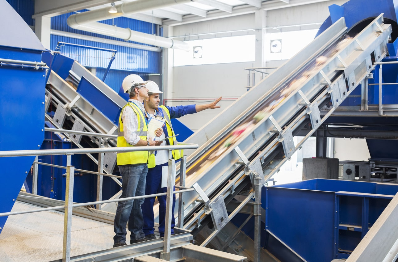The benefits for the recycling industry by switching over to thermoplastic belts