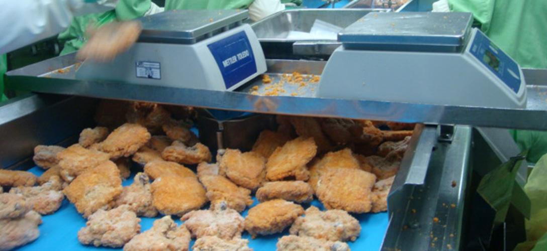 Abrasive seafood environment